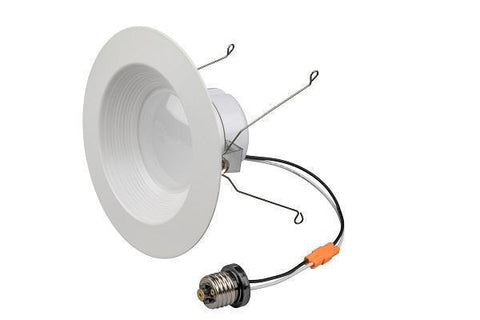 "LEDQuant  12Watt 5/6""Inch ENERGY STAR ETL Dimmable LED Downlight Retrofit Baffle Recessed Lighting Kit 3000K Warm light LED Ceiling Light 850LM"