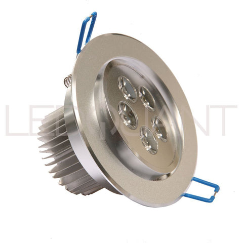 Dimmable 5W Recessed LED Lighting Fixture, Recessed Downlight, Warm White, UL Certified
