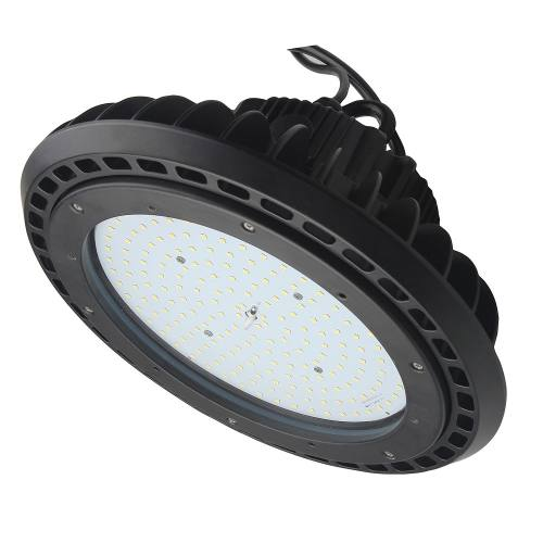 150W LED Round High Bay Light Fixture 18450lm 0-10V dimmable UL & DLC Listed Indoor Commercial Warehouse/Workshop/Wet Location Area Light