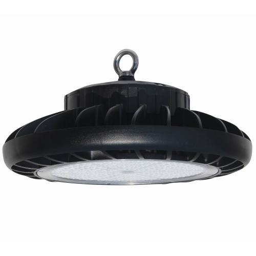 UFO LED High Bay Light Fixture, 1-10V dimmable UL & DLC Listed Motion Sensor Optional, Indoor Commercial Warehouse/Workshop/Wet Location Area Light