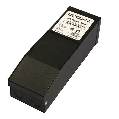 100 Watt Dimmable 12VDC Magnetic Transformer, LED Power Supply