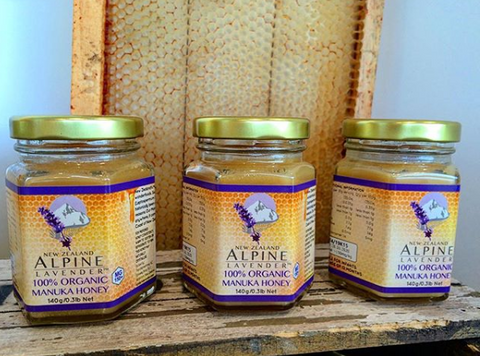 Manuka honey infused with lavender (certified organic)