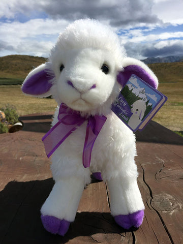 Lucy the Lavender Lamb Soft Toy