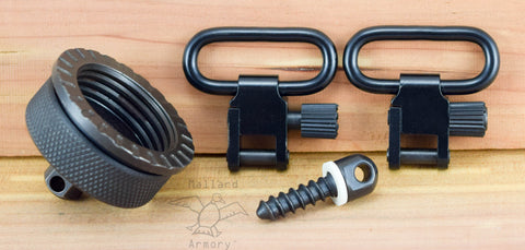 Remington 1100 11-87 12 GA Cap Swivel for Sling/Strap - Mallard Armory