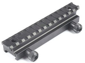 "Medium Profile 13 Slot 0.67"" Performance Riser Mount - Mallard Armory"