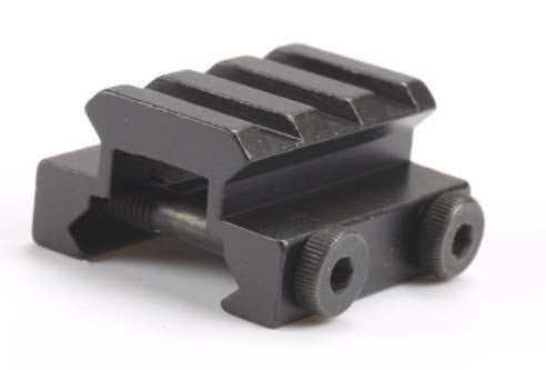 Low Profile 3 Slot Riser for Picatinny Rail Mount - Mallard Armory