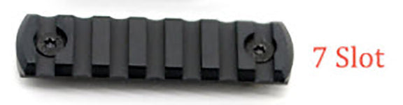 7 Slot MLOK Aluminum Rail (Black)