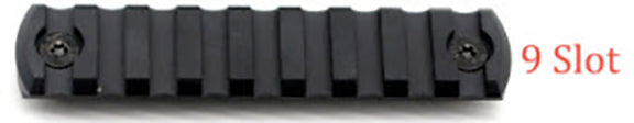 9 Slot M-LOK Aluminum Rail (Black)
