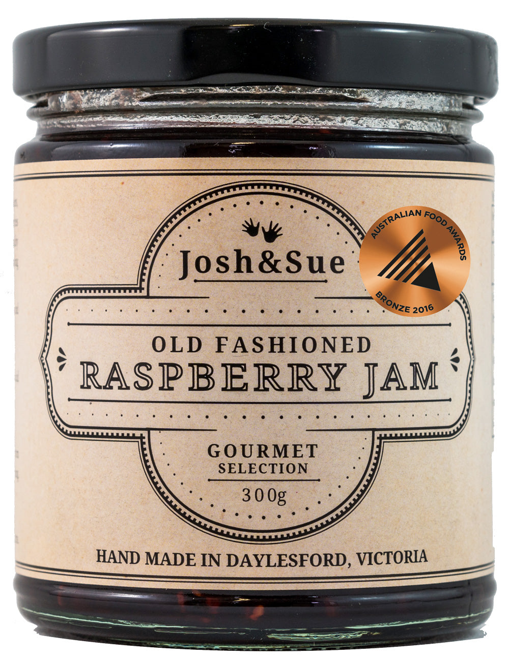Josh & Sue Old Fashioned Rasberry Jam