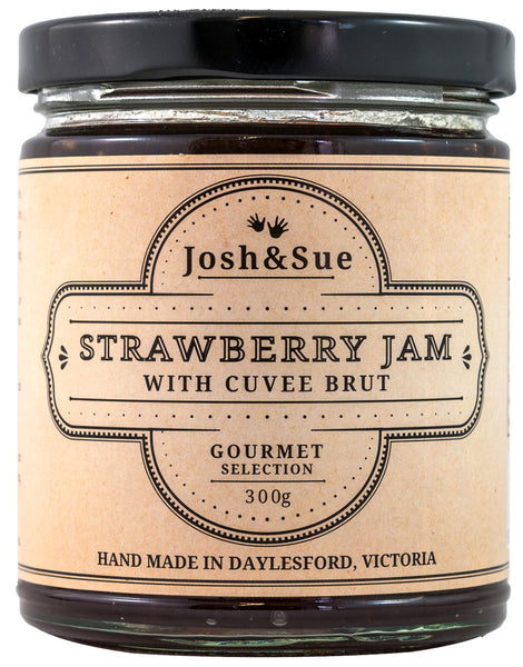 Josh & Sue Strawberry Jam (with Cuvee Brut)