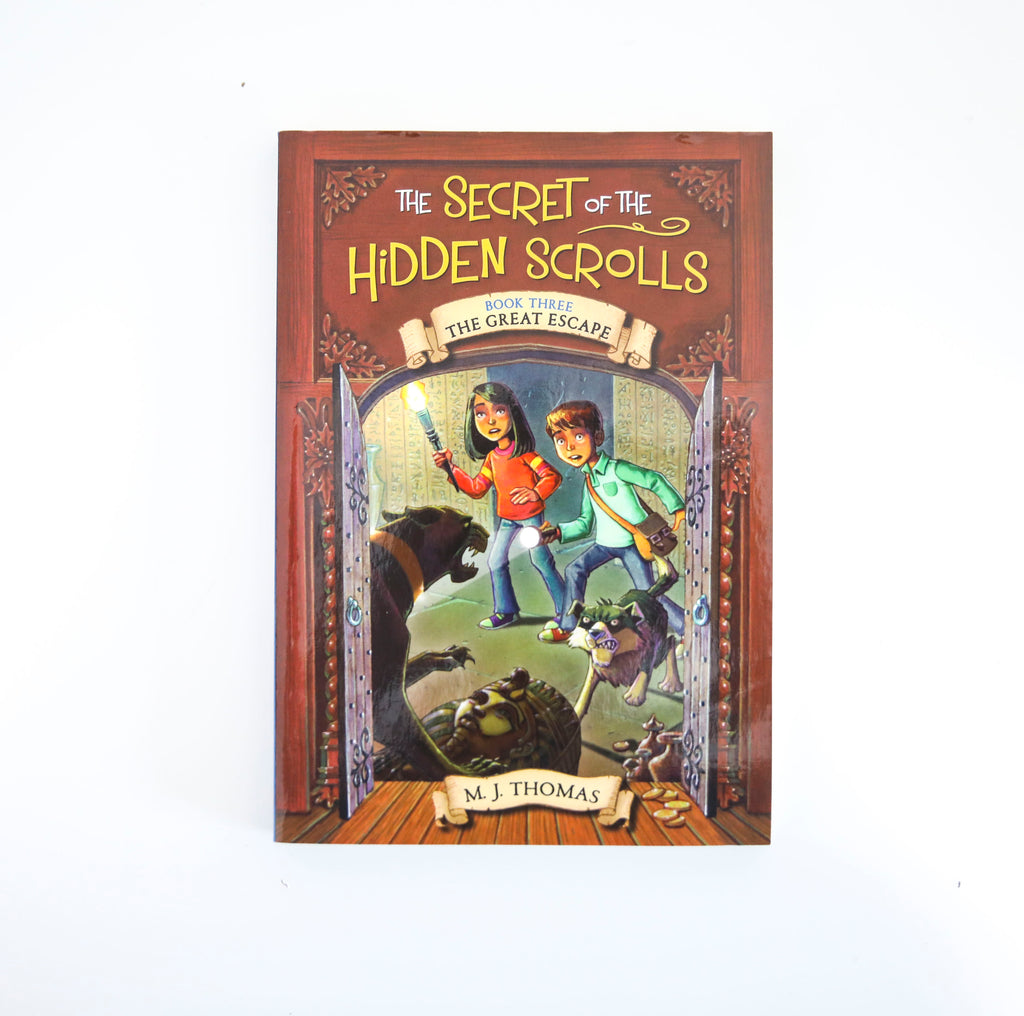 SECRET OF THE HIDDEN SCROLLS...BOOK THREE: THE GREAT ESCAPE