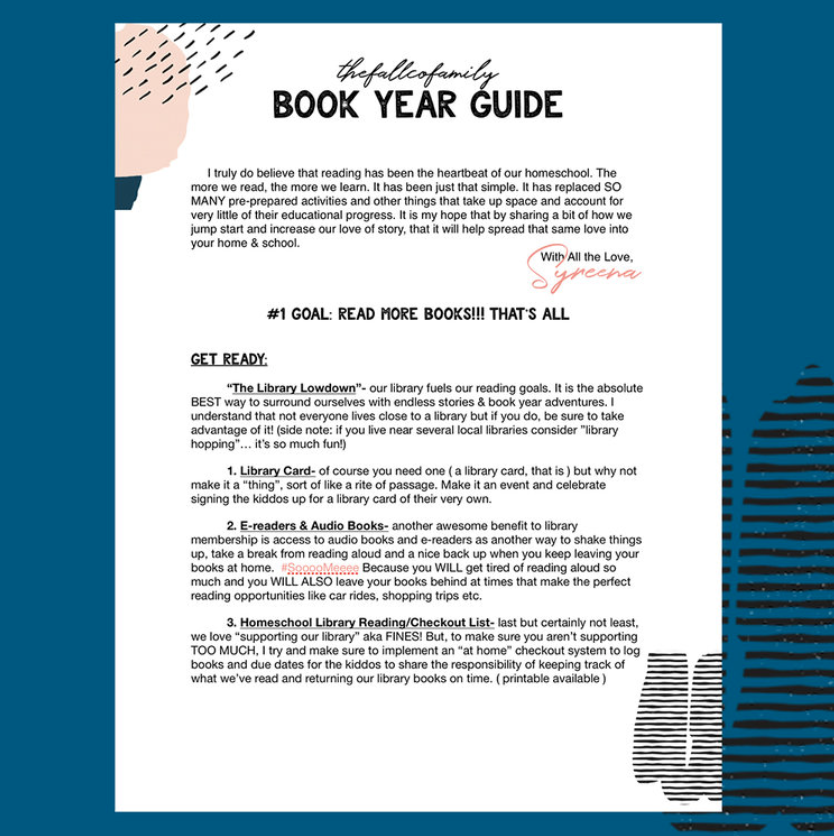 TFCF | BOOK YEAR GUIDE!