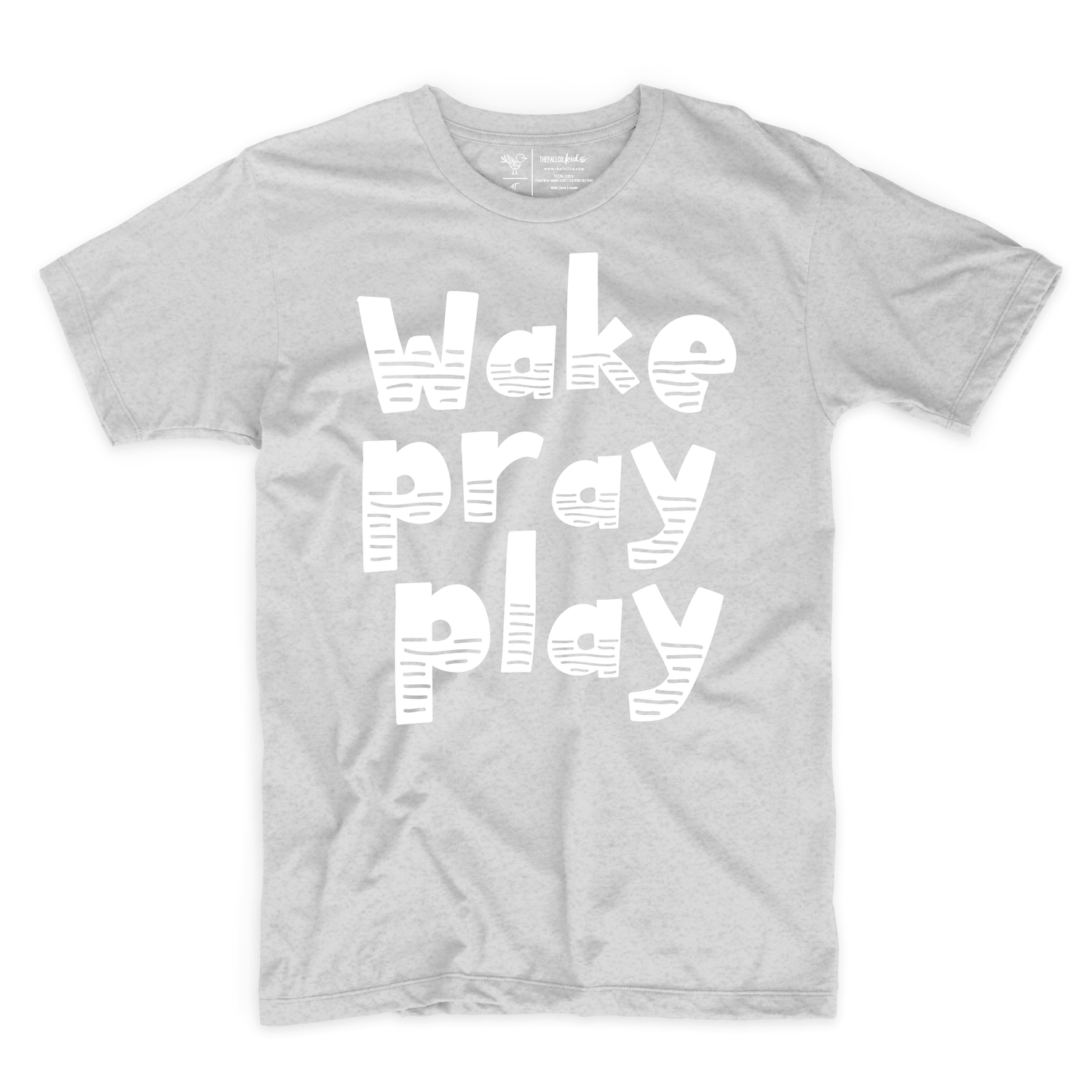 Wake Pray Play Tee {Kids}