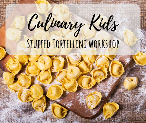 Culinary Kids - Stuffed Tortellini from SCRATCH!