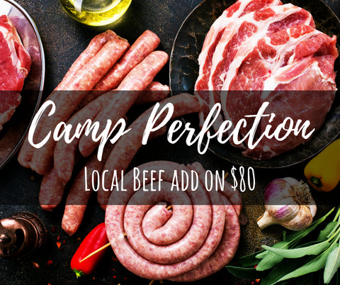 BBQ Ready Local Beef Package - Camp Perfection
