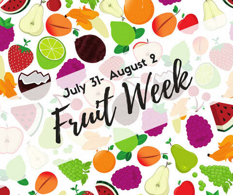 Cluinary Kids Summer Workshops - Fruit Week!