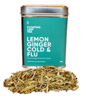 Floating Leaf Tea - Lemon Ginger Cold and Flu
