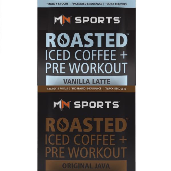 Roasted Pre Workout Single Serving Combo Pack - MN Sports - 1
