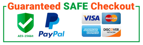 PayPal accepted - SAFE checkout