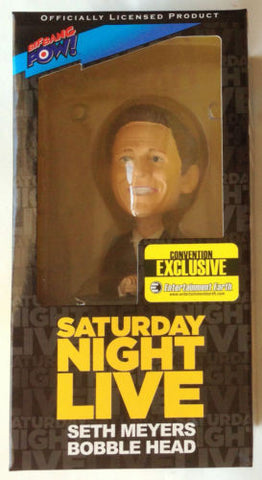 Bif Bang Pow! SNL Seth Meyers Weekend Update Convention Exclusive Bobble Head Figure