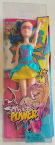 Barbie in Princess Power Abby Blue Fairy Superhero Butterfly Costume Fashion Doll