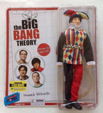 Big Bang Theory Howard 8-Inch Action Figure with Comicon Exclusive Jester Renfaire Costume