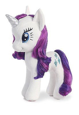 Aurora World My Little Pony Rarity Pony 13 in. Unicorn Plush Toy