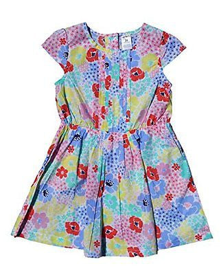 Carter's Toddler Girl's Woven Pastel Print Dress