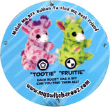 Wild Republic Switch A Rooz Reversible Plush Toy Giraffe Tootie and Fruitie