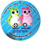 Wild Republic Switch A Rooz Reversible Plush Owl Hoot and Hollar