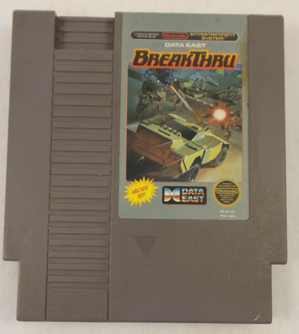 Nintendo Entertainment System (NES) Video Game - Breakthru