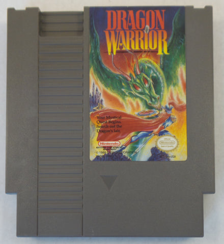 Nintendo Entertainment System (NES) Video Game - Dragon Warrior