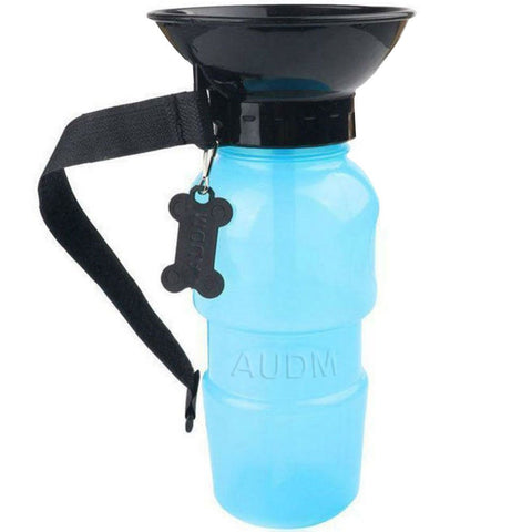 AUDM Auto Dog Mug 20 oz Outdoor Portable Dog Water Bottle