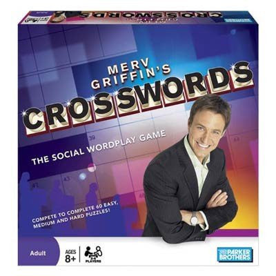 Merv Griffins Crosswords Board Game