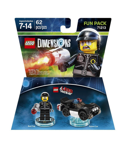 LEGO Dimensions Video Game Movie Bad Cop Fun Pack