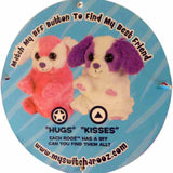 "Wild Republic Switch A Rooz Puppy Hugs and Kisses 7"" Plush"