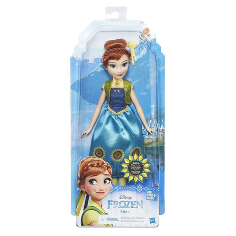 Hasbro Disney Princess Frozen Spring Fever Anna Classic Fashion Doll
