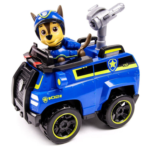 Paw Patrol Chase's Spy Cruiser Vehicle and Pup Set