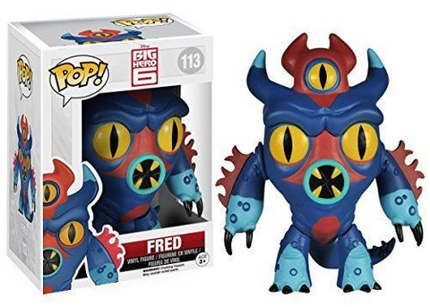 Funko Disney Marvel #113 Big Hero 6 Fred Monster Pop! Vinyl Figure
