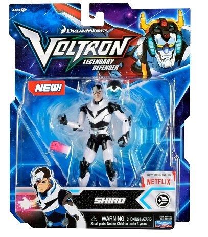 Voltron Legendary Defender (2017) Takashi Shiro Shirogane 5.5 in Action Figure