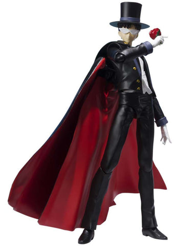 Bandai Tamashii Nations S.H. Figuarts Pretty Guardians - Tuxedo Kamen Mask Crystal 5 in. Action Figure