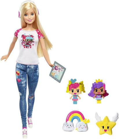 Barbie Video Game Hero Programmer Designer Fashion Doll