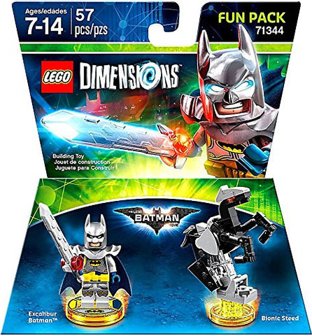 LEGO Dimensions Video Game Fun Pack - The LEGO Batman Movie Excalibur Batman