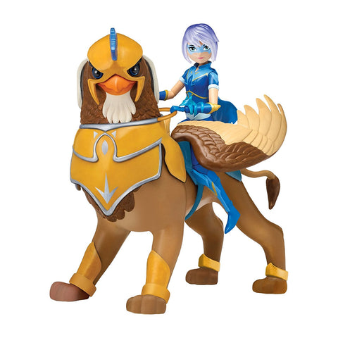 Mysticons Zarya Nighthawk Ranger and Archer Griffin 7-inch Action Figure Set