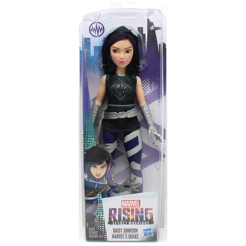 Marvel Rising Secret Warriors Training Outfit Quake Daisy Johnson 11 in. Adventure Action Figure Doll