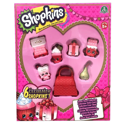 Shopkins Sweet Heart Collection - Exclusive Valentine's Day 6 Figure Set