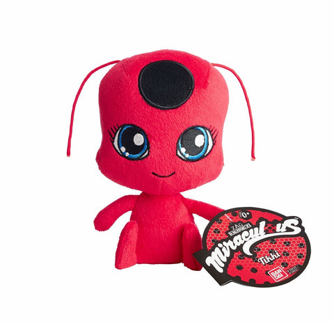 Bandai Miraculous Ladybug Tikki Kwamii 6 in. Plush Toy