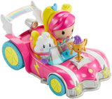 Barbie Video Game Hero 2-D Mobile Game Character Figure & Vehicle Play Set