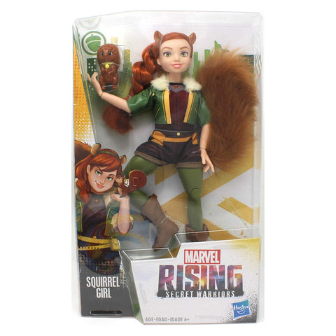 Marvel Rising Secret Warriors Squirrel Girl Doreen Green 11 in. Adventure Action Figure Doll