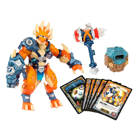 Lightseekers Awakening Starter Pack - Tyrax Hero Jax 7 in. Action Figure